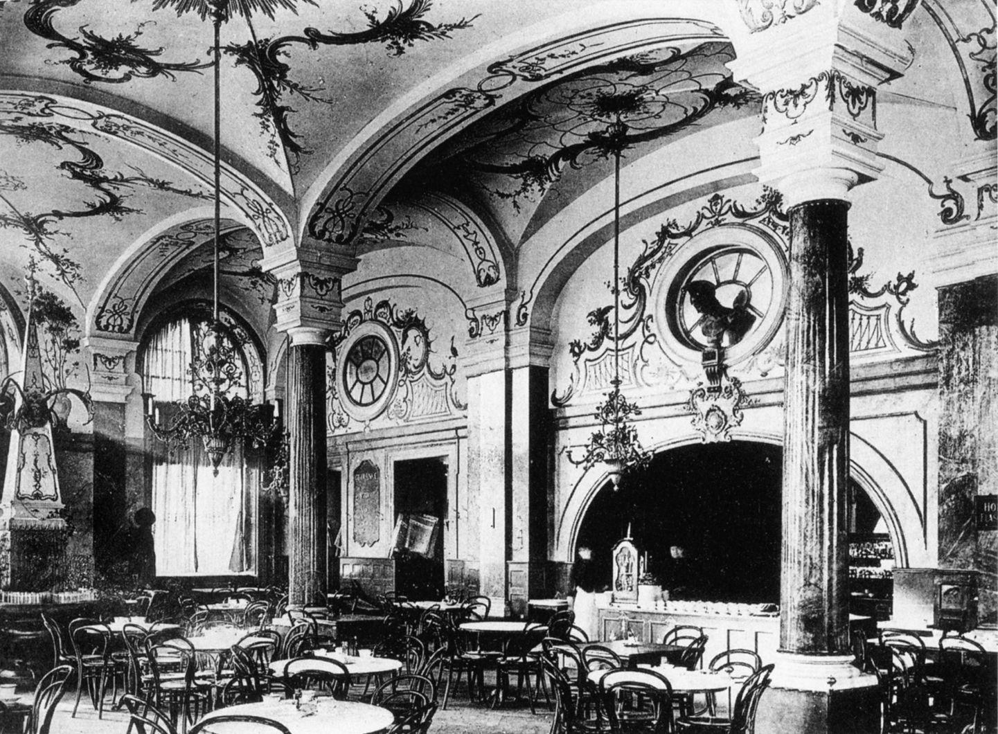 Begegnungen for Innenarchitektur 1900